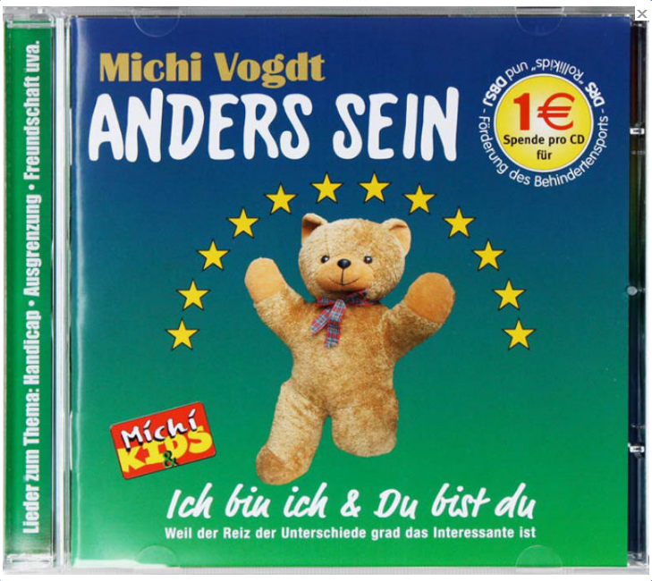 Cover CD ANDERS SEIN